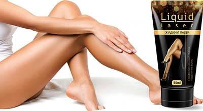 Жидкий лазер сделает ваши ноги гладкими