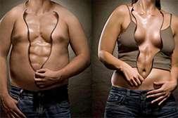 Биокомплекс расщепляет подкожный и висцеральный жир